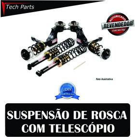 Kit Suspensão Regulável Rosca Macaulay Gol G3