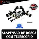 Kit Suspensão Regulável Rosca Macaulay Gol G1 G2 G3 G4