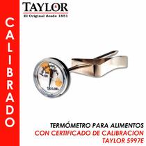 Termómetro Bimetálico De Carátula, Alimentos Taylor 5997-e