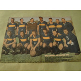 Lamina Boca Juniors Sub Campeon 1947