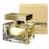 Perfume The One Feminino 75ml Dolce & Gabbana -100% Original