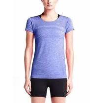 Remera Nike Dri-fit Knit Running Mujer - Original Usa
