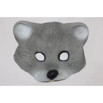 Máscara Látex Rato Animal Borracha Roedor Fantasia Carnaval