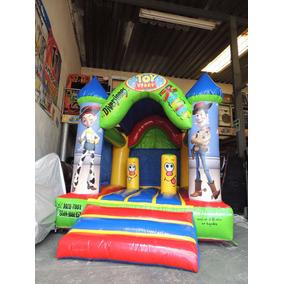 Brincolin Inflable Castillo Toy Story Con Toldo 3x4m