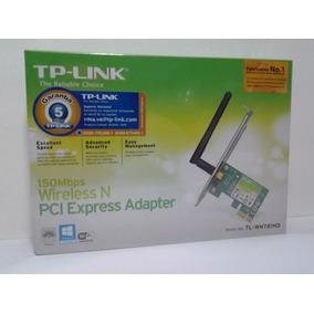 Tarjeta De Red Wifi Wn781nd Pci Express 150 Mbps 1 Antena Tp
