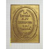 Medalla La Patria A Su Defensor En Tucuman Sociedad La Medal