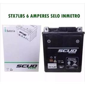 Bateria Scud Nx400 Falcon 2003 2004 2005 10040009 Ref Ytz 7v