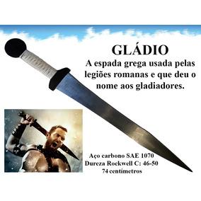Gládio Espada Grega Romana Aço De Combate Gládius