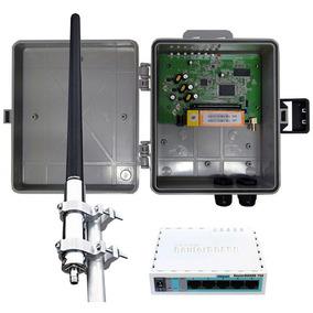Kit Provedor Profissional 1000 Mw + Antena De 15 Dbi + Rb750