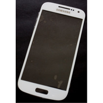 Samsung S4 Mini I9190 - Refacción Cristal Gorilla Blanco