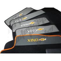 Tapete Carpete Carro Gm Onix Agile S10 Classic Bordado