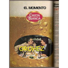 Anuncio Cerveza Carta Blanca Enrique Guzmán César Costa 1981
