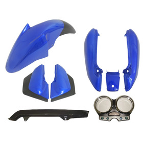 Carenagem Suzuki Yes 125 Azul Ano 2005 À 2013 Kit