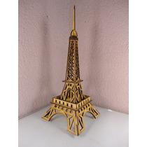 Torre Eiffel Chica En Madera Mdf Para Adorno O Recuerdo