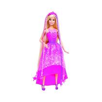 Boneca Barbie Mattel Fantasia Princesa Penteados Mágicos