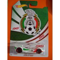 Hot Weels Federación Méxicana De Fut Bol Producto Oficial