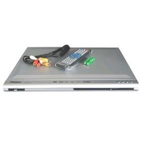 Dvd Player Haier Dvd 6200-2 Karaoke 2 Entrada Microfones Usb
