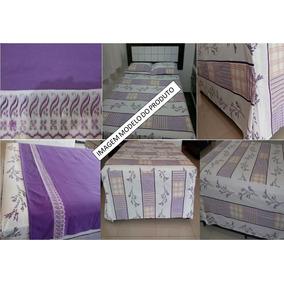 Conjunto De Lençol P/cama Box Tamanho Casal Padrão - 4 Peças