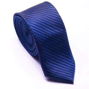 Gravata Azul Royal Riscada Para Padrinhos De Casamentos