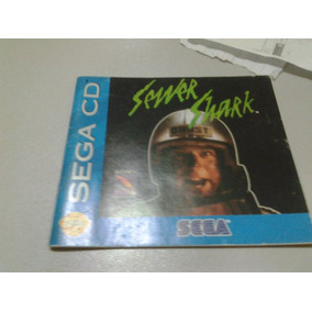 Sewer Shark Sega Cd Encarte Original Jogo!!!