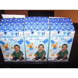 Cajitas Golosineras Personalizadas Tematica: Osito Para Bebé