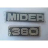 Emblema Lateral Cabina Pegaso Mider-360, Nuevo.