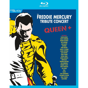 Queen + Freddie Mercury Tribute Concert Bluray Nuevo Stock