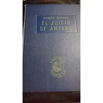 El Juicio De Amparo-ignacio Burgoa