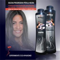 Escova Progressiva Perola Negra - Brilhou Produtos