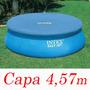 Capa Proteção Intex Piscina 457 Cm Borda Inflável Cobertura