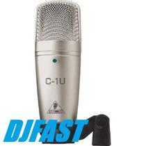 Microfone C1 Usb Condensador Behringuer C1 Usb # Djfast #