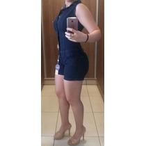 Macacão Jeans Estilo Pit Bull Aumenta E Modela Bumbum