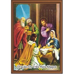 Santinho Os Tres Reis Magos ( Milheiro )