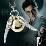 Collar Snitch Quidditch Gira Tiempo Hermione Harry Potter