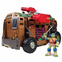 Teenage Mutant Ninja Turtles Nuevo Camion Con Figura