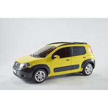 Fiat Uno Way Amarelo 1:18 Controle Remoto Seminovo