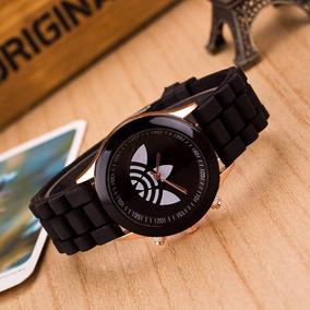 Relógio Feminino adidas Importado Branco Color Silicone