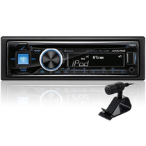 Estereo Alpine Cde-143bt Bluetooth Desmontable Usb Aux New