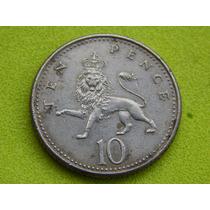 Moeda Da Inglaterra De 10 Pence De 1992 (ref 229)