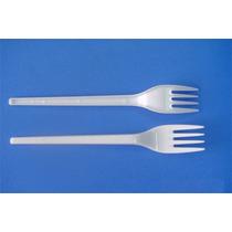 Cuchillos Y Tenedores Descartables Plastico Ref. X 100un.