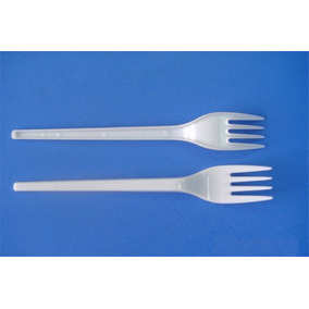 Cuchillos O Tenedores Descartables Plastico Ref. X 100un.