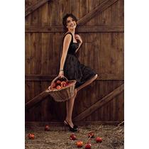 Elegante Vestido Las Oreiro Nuevo Con Etiquetas Talle 1