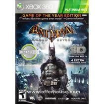 Batman Arkham Asylum Platinum Hits Xbox 360 Nuevo