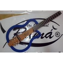 Violão Ramá Natural Cedro Blue Vazado Luthier Silent Guitar