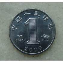 2556 China 1 Yi Jiao 2009, 18mm, Inox, Ver Fotos!