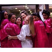 Robe De Cetim Noiva Personalizado,promoção..noiva, Casamento