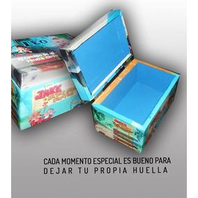 Souvenirs Cofre De Madera Personalizado