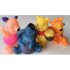 Chifle Muñeco Goma Bebe Winnie Pooh Para Bañera X 4 Smile