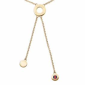 Cadena Collar Tommy Hilfiger Bijoux 2700499 Acero Gold