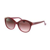 Óculos De Sol Calvin Klein Retrô Vermelho